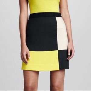 Kate Spade Color Block Skirt size 2